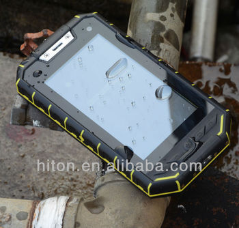 China Hottest 5 inch Rugged Tablet PC with IP68 3G GPS rugged Tablet pc factory