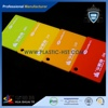 Colour poly methyl methacrylate sheet for decoration