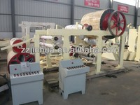 Small toilet tissue paper making equipment,paper roll making machine