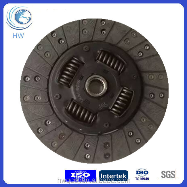 Automatic Transmission 255mm Foton Truck Clutch Disc