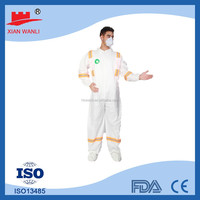 Disposable safety fire retardant working coverall