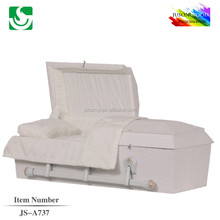 JS-A737 trade assurance supplier reasonable price infant and baby casket