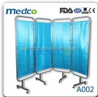 hospital furniture, hospital folding medical ward curtain A002