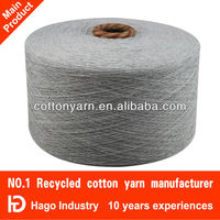 cotton dyed open end glove yarn recycle pet yarn machine