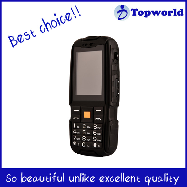 Unlock Cheapest small cell phone NO.1 A9 IP67 with Large capacity battery