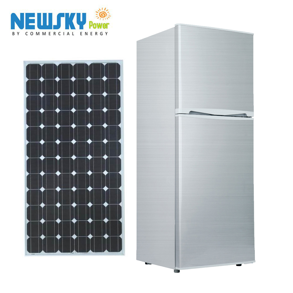 DC 12V Solar Powered Refrigerator from Newsky power