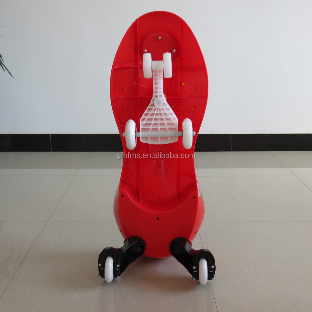 Saleable Type PP Material Children Plastic Toy Ride on Swing Car