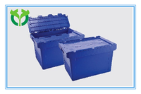 Inclined inserted wide application plastic turnover box