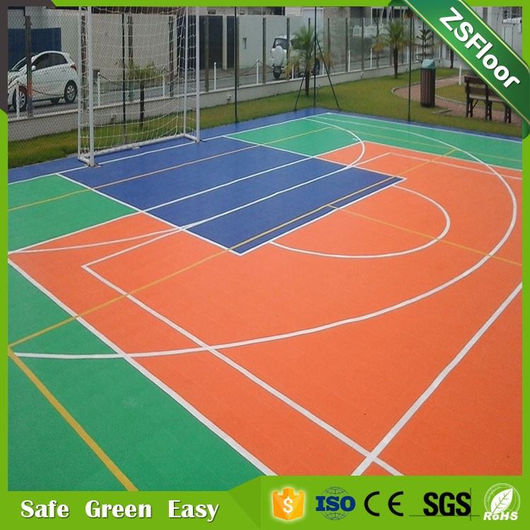 High quality double layers interlocking flooring product description