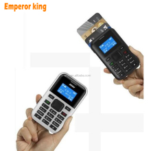 Multi Languages Mini Card Phone Pocket Phone For Student Children Low Radiation Phone Full Keyboard