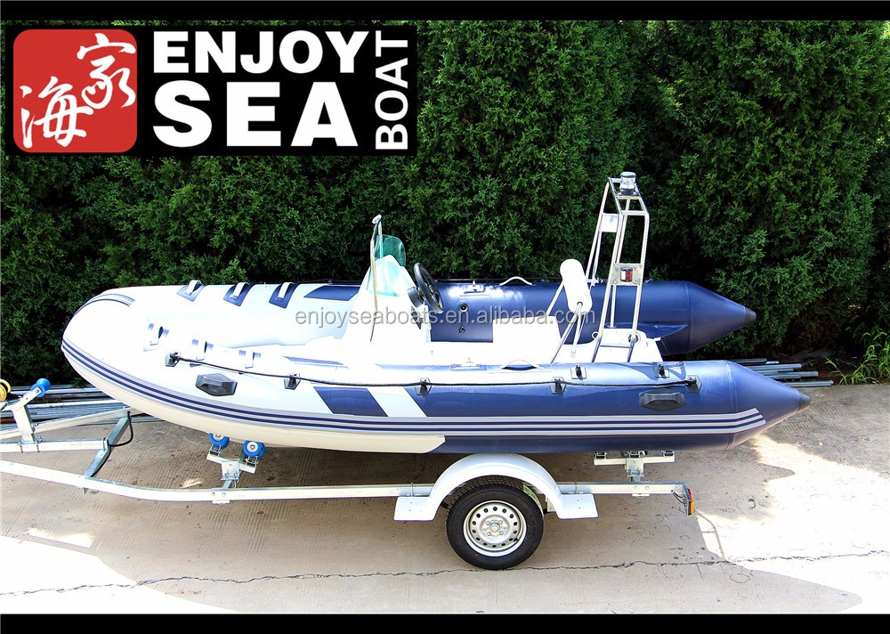 China 420 rib hypalon 8 person pvc inflatable boat for sale!