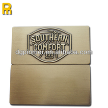 Different qr code etched matal name plates with great price
