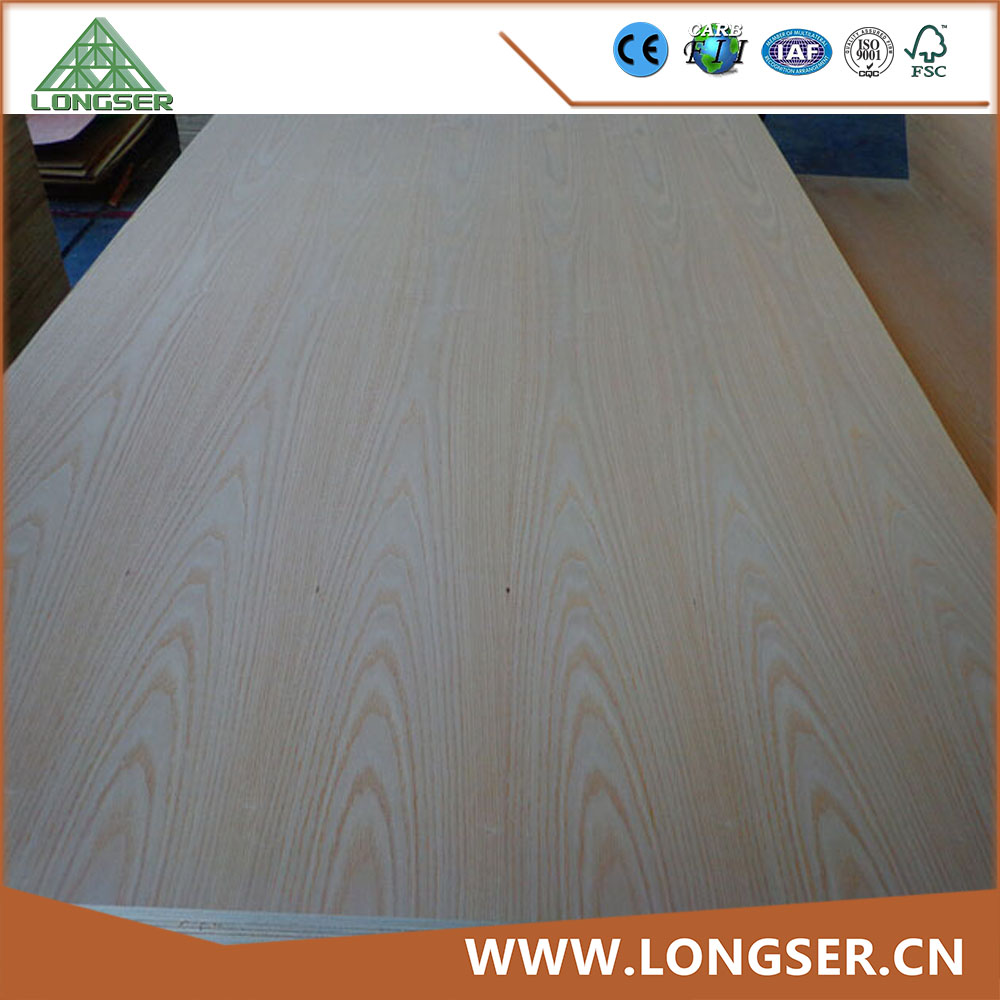 Poplar core 6mm natural veneer fany plywood