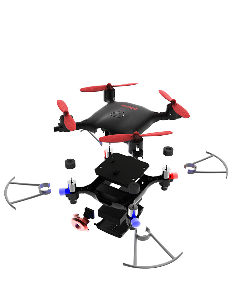 2.4Ghz 6-AXIS Professional Gyro Rc Drone Helicopter With Camera