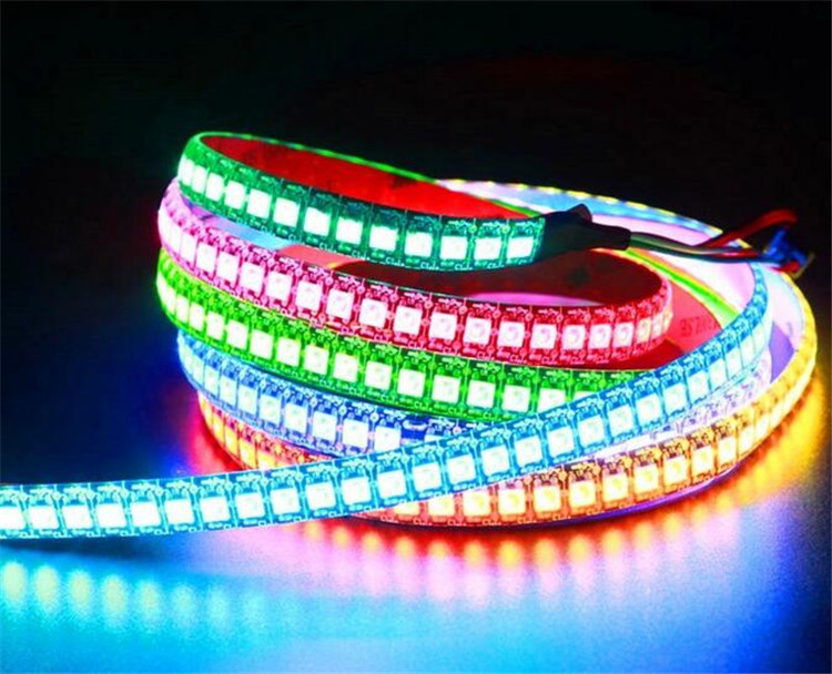 WS2812B 144 LED flexible led pixel light strip