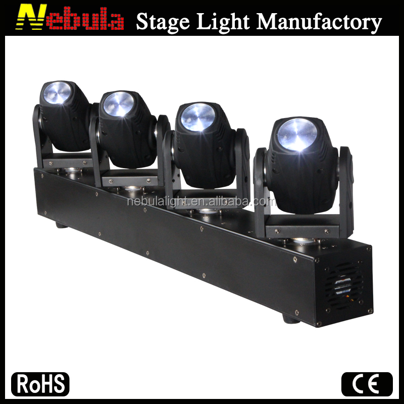 Nebula 4 x 10W beam moving heads bar light/led light bars