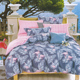Most Popular Comfortable 100% cotton Flamingo Leaves Print Bedding Set
