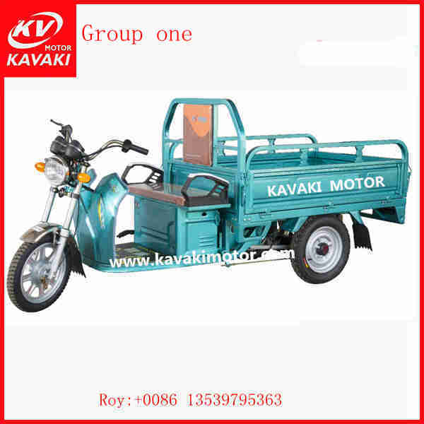 China Supplier Cargo Tricycle/three Wheel Electric Motorcycle With 800w Motor