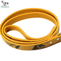 120cm Strong Dog Leads PU Leather Easy Walking Puppy Leash