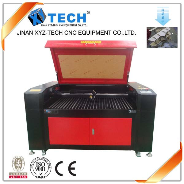 Second hand 40w 80w co2 textile laser engraving and cutting machinery price