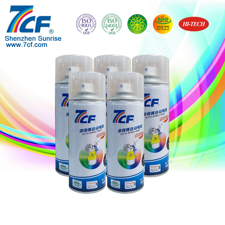 Shenzhen Sunrise High Quality Multi-purpose Acrylic Invisible Spray Paint
