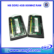 Shenzhen ght technology Co. 4gb ddr2 sdram 800mhz laptop ram memory