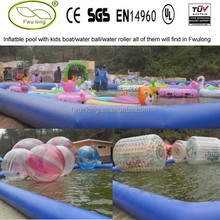 Original factory supply inflatable square swimming pool