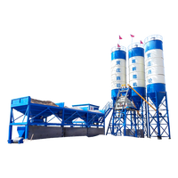 Good quality 50M3 concrete mixing batching plant and cement silo