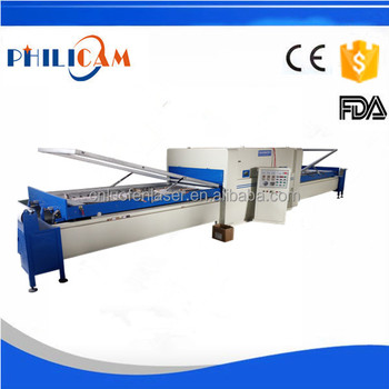 pvc door vacuum membrane heat press machine