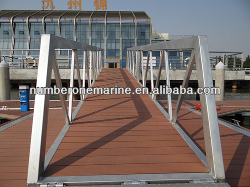 aluminum alloy gangway for floating dock