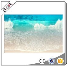 China factory price fast delivery beach stone canvas print
