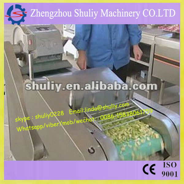 Multifunction vegetable cutting machine/cube vegetable cutting machine //0086-15838061759