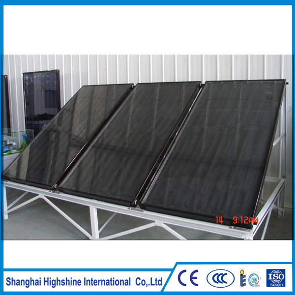 Manufacturer bluetec coating flat panel solar collector
