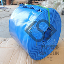 "Large diameter 12"" pvc layflat water discharge hose irrigation hose"