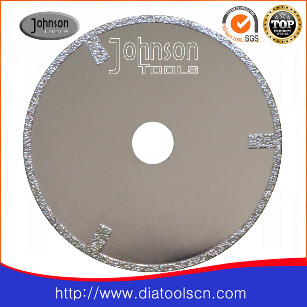 electroplated type diamond cutting saw blade