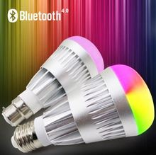 House speakers Bluetooth speaker LED bulbs with app control light and music sleep mode RGB light