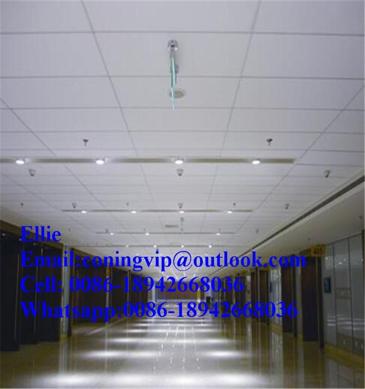 Fibreglass ceiling tiles