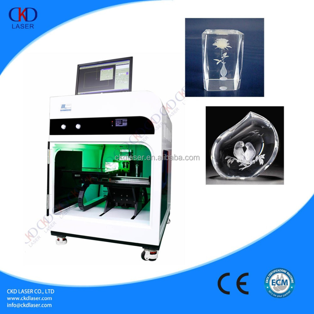 Hot sale 3d crystal glass laser engraving machine price