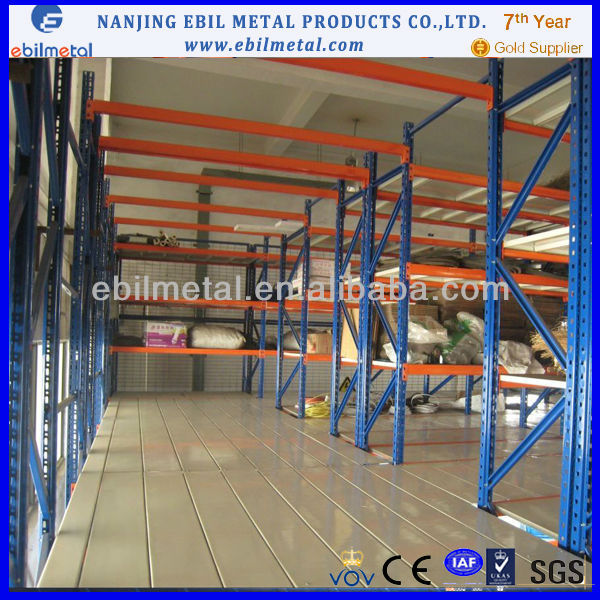Multi-layer shelves, MULTI-STORY racking, Attic type racks made in China
