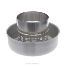 Ventilation Fan Parts 4 Stainless Steel Cowl Vent Roof Mushroom Cowl For 4 Inch Inline Duct Fan/