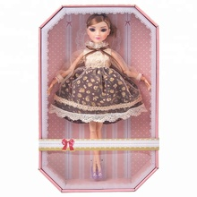 New Fashion 11.5 Inches Doll with 12 moveable joints Dress Changeable Toys for Kids