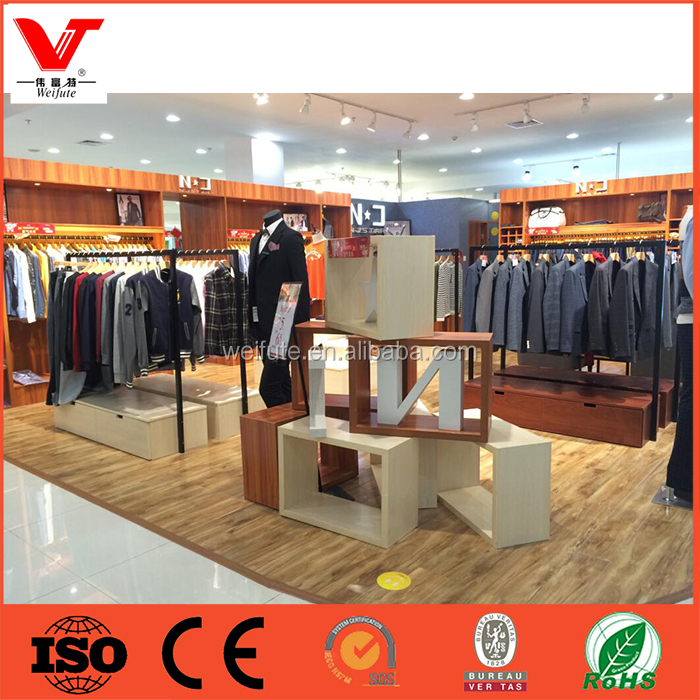 Fashion Design Clothing Store Furnitures Men Garments Shop Display Fittings Buy Clothing Store