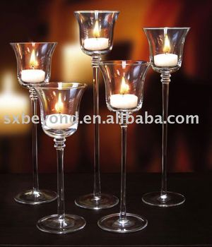 long stem glass candle holder buy glass candle holder tall glass candle holders glass tea. Black Bedroom Furniture Sets. Home Design Ideas