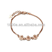 fashion men bracelet silver