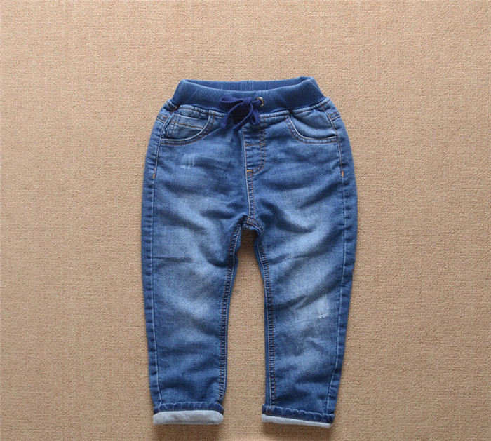 Cartoon Children boys Trousers Full Length Winter 2017 Baby Kids Long Pants Toddler Jean Clothing Denim Clothes jean trousers