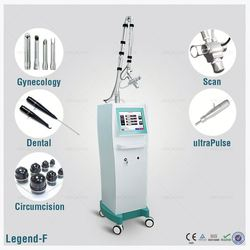 Ultra Pulse Co2 fractional machine RF tube skin scar acne removal and kit vaginal