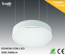 Hot commercial COB LED ROUND PENDANT LIGHT 32W 3360Lm ceiling light