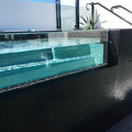 PG Customized Clear Acrylic Swimming Pool Panels