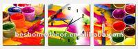 dye ink pigment wall clock parts, electronic wall clock, european wall clock