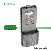 Walkie Talkie Baofeng BF-UV5R Extended Battery with DC7.4V 3800mah for BF-UV5R Case
